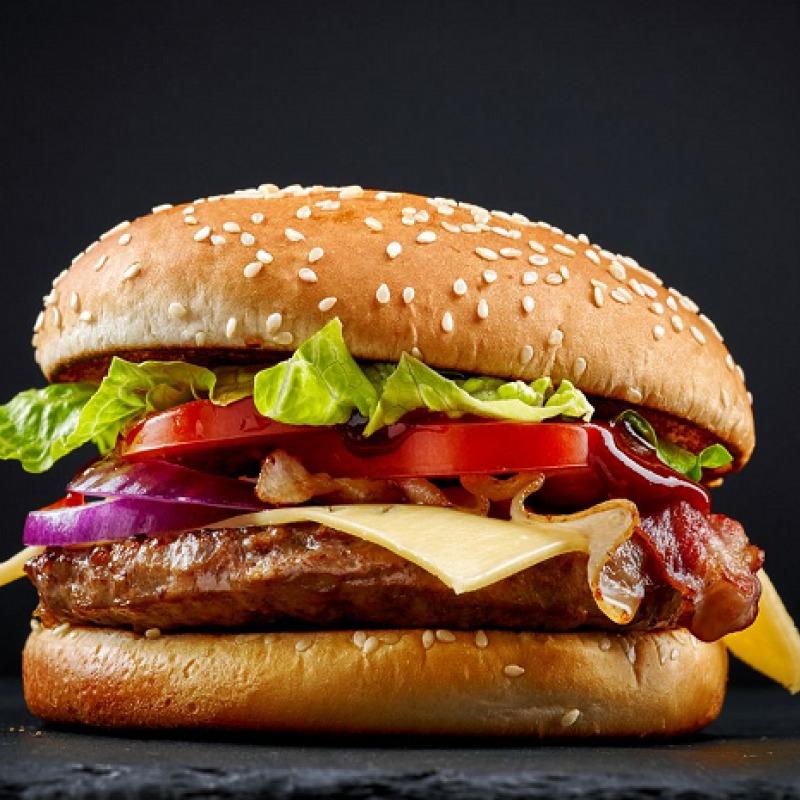 Caja de hamburguesas 100 grs. 10un.