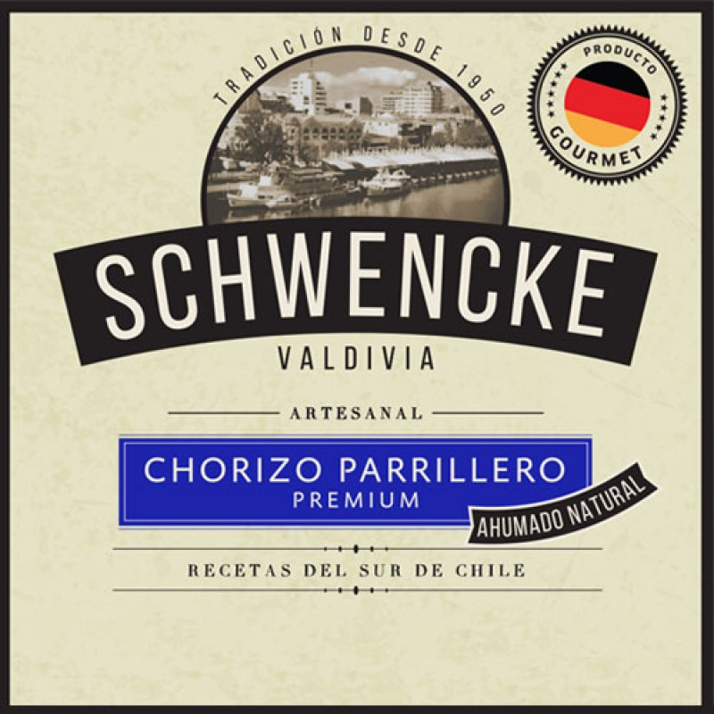 Chorizo Parrillero Premium 500grs Ahumado Natural