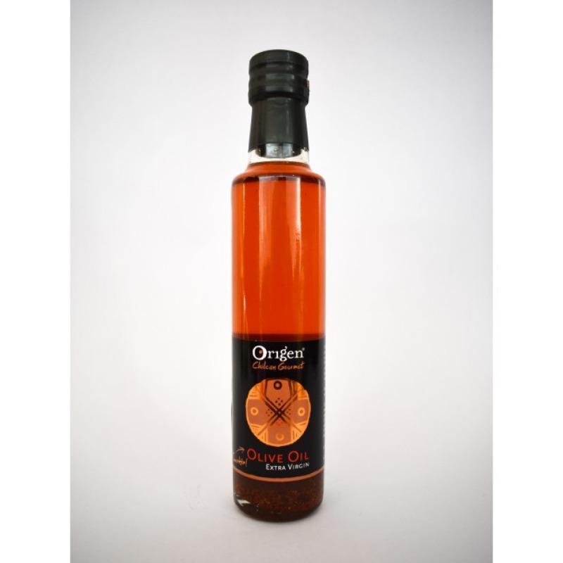 Origen Chilean Gourmet Aceite Oliva con Merken 250 ml