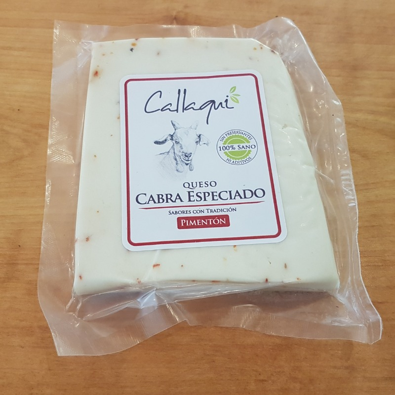 Queso de Cabra Especiado Pimentón 250 grs