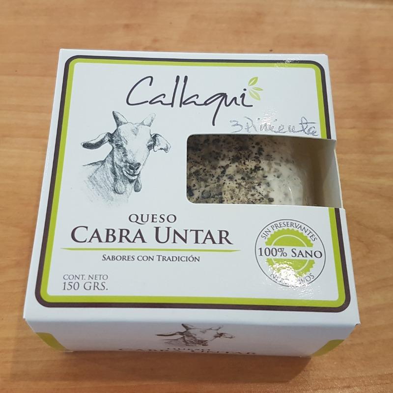 Queso de Cabra untable Pimienta 150 gr