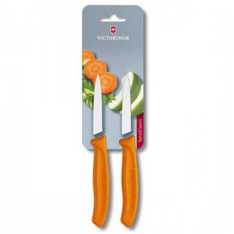 Set cuchillos SwissClassic para verduras. hoja de 8 cm
