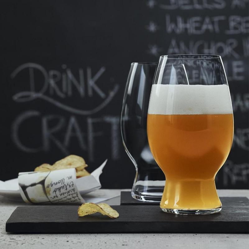 Set de 2 Copas Cristal Spiegelau Cerveza Artesanal American Wheat