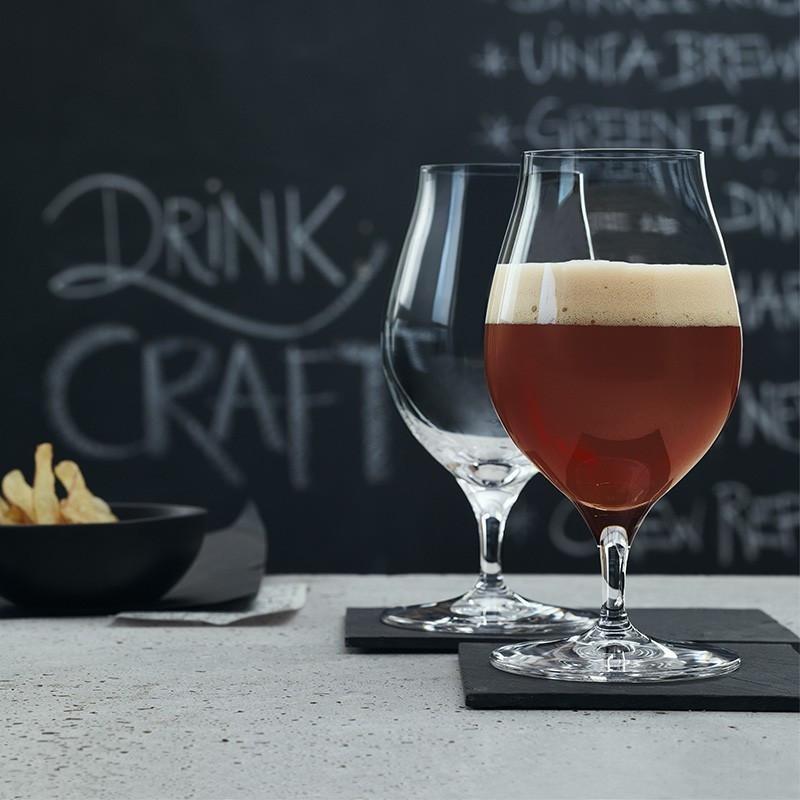 Set de 2 Copas Cristal Spiegelau Cerveza Artesanal Barrel Aged